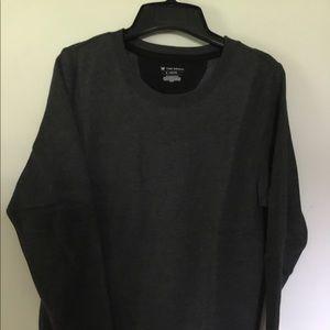 Cuddly Soft Sweatshirt, Charcoal Gray NWT